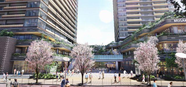 プラウドタワー武蔵小金井クロスの外観画像