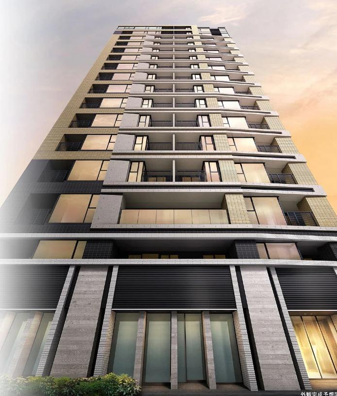 シティハウス東京八重洲通りの外観完成予想図