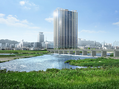 Brillia Tower 聖蹟桜ヶ丘 BLOOMING RESIDENCEの建設現地に行ってきました! 「WoMansion」-価格・間取りなどのマンション情報